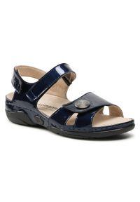 Niebieskie sandały Berkemann