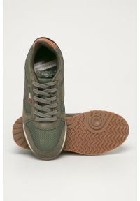 U.S. Polo Assn. - Buty. Zapięcie: sznurówki. Kolor: zielony. Materiał: guma, syntetyk, materiał, skóra, zamsz. Szerokość cholewki: normalna #2