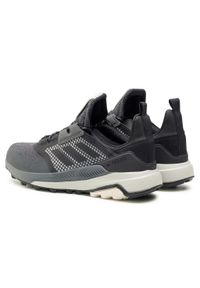 Adidas - Buty adidas - Terrex Trailmaker Gtx GORE-TEX FV6863 Cblack/Cblack/Alumn. Zapięcie: sznurówki. Kolor: czarny. Materiał: skóra ekologiczna, skóra, materiał. Szerokość cholewki: normalna. Technologia: Gore-Tex. Model: Adidas Terrex
