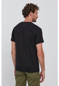 Bomboogie - T-shirt. Okazja: na co dzień. Kolor: czarny. Materiał: dzianina. Styl: casual
