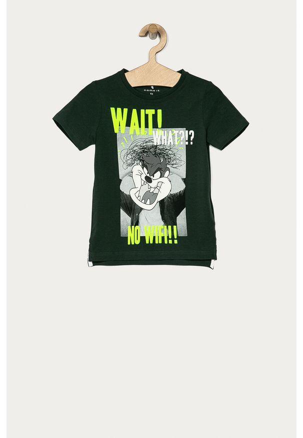 T-shirt Name it casualowy, z nadrukiem, na co dzień, z okrągłym kołnierzem