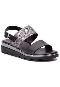 Czarne sandały The FLEXX casualowe, na co dzień