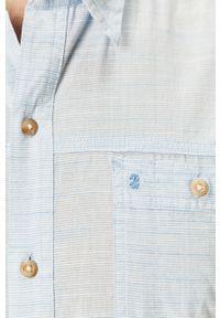 Niebieska koszula Izod casualowa, na co dzień
