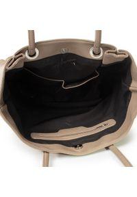 Beżowa torebka klasyczna Jenny Fairy klasyczna, skórzana