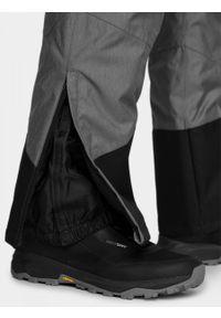 Szare spodnie narciarskie outhorn melanż