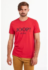 T-shirt JOOP! Jeans elegancki, w kolorowe wzory
