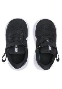 Czarne półbuty Nike na spacer, z cholewką, na rzepy