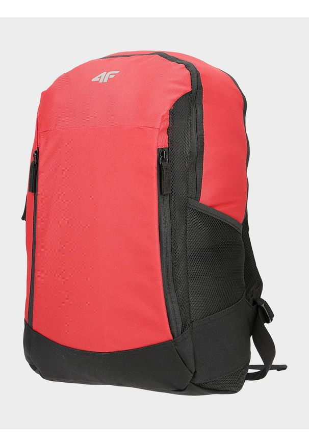 4f - Plecak miejski uniseks. Kolor: czerwony