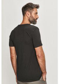 Levi's® - Levi's - T-shirt Premium (2-PACK). Okazja: na co dzień, na spotkanie biznesowe. Kolor: czarny. Materiał: dzianina. Styl: biznesowy, casual