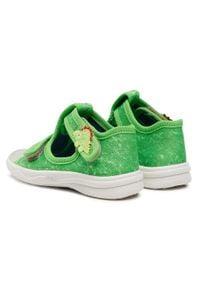 Superfit - Sandały SUPERFIT - 1-000293-7000 M Grun. Kolor: zielony. Materiał: materiał. Sezon: lato. Styl: klasyczny