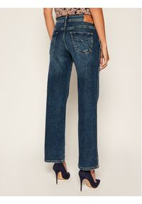 Pepe Jeans Jeansy Relaxed Fit PEPE ARCHIVE New Olympia PL203763D Granatowy Relaxed Fit. Kolor: niebieski