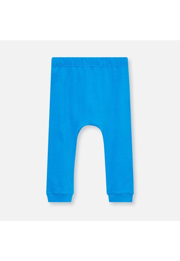 Niebieskie spodnie Sinsay