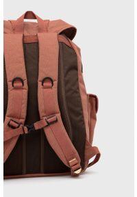 Doughnut - Plecak Woodland Cordura. Kolor: brązowy. Materiał: włókno, tkanina