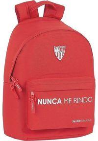 Czerwony plecak na laptopa