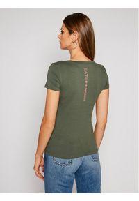 Zielony t-shirt EA7 Emporio Armani