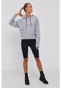 DKNY - Dkny - Bluza. Kolor: szary. Wzór: nadruk