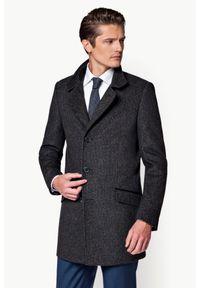 Szary płaszcz Lancerto na zimę, elegancki