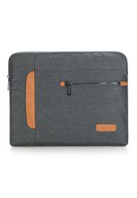 Szara torba na laptopa Wittchen elegancka