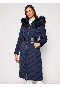 Fioletowa kurtka zimowa Guess