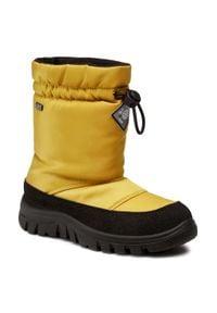 Żółte śniegowce Naturino