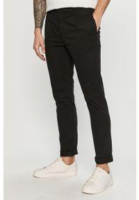 Czarne spodnie Tom Tailor gładkie