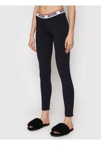 Moschino Underwear & Swim - MOSCHINO Underwear & Swim Legginsy ZUA4327 9003 Czarny Slim Fit. Kolor: czarny