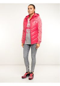 Różowa kurtka puchowa Superdry