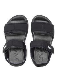 Czarne sandały Bibi