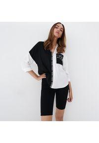 Mohito - Koszula z zamkiem - Czarny. Kolor: czarny