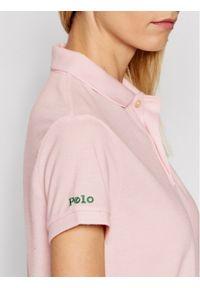 Różowa koszulka polo Polo Ralph Lauren polo