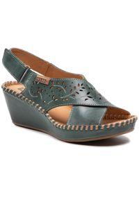 Zielone sandały Pikolinos