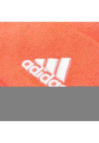 Adidas - Czapka adidas - Logo Woolie FT8844 Sigpnk/Sigpnk/White. Kolor: pomarańczowy. Materiał: materiał, akryl