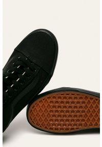 Vans - Tenisówki Old Skool. Nosek buta: okrągły. Zapięcie: sznurówki. Kolor: czarny