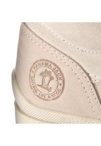 Szare buty trekkingowe Panama Jack z cholewką