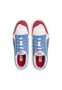 Sneakersy PUMA - Ralph Sampson Mr Doodle 380539 01 Puma White/Ultramarine. Kolor: biały. Materiał: zamsz. Szerokość cholewki: normalna. Styl: klasyczny