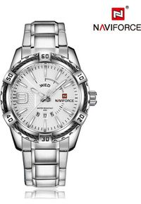 Srebrny zegarek Naviforce