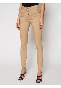 Liu Jo Jeansy WA1058 T7144 Brązowy Slim Fit. Kolor: brązowy