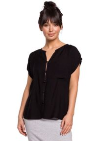 Czarna bluzka MOE elegancka