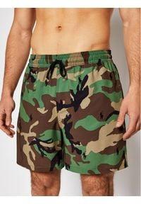 Polo Ralph Lauren Szorty kąpielowe 710835128001 Zielony Regular Fit. Kolor: zielony