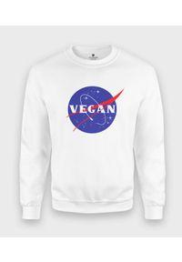 MegaKoszulki - Bluza klasyczna NASA Vegan. Styl: klasyczny