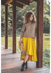 Spódnica VEVA w kolorowe wzory, na jesień
