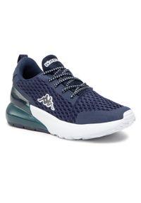 Kappa - Sneakersy KAPPA - Colp 242841 Navy/White 6710. Kolor: niebieski. Materiał: materiał. Szerokość cholewki: normalna. Styl: elegancki