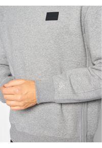 Calvin Klein Jeans Bluza Moto Zip J30J316682 Szary Relaxed Fit. Kolor: szary