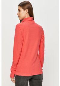 Różowa bluza columbia na co dzień, bez kaptura