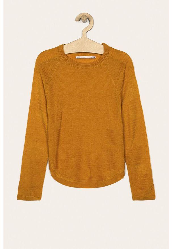 Pomarańczowy sweter Kids Only na co dzień, casualowy