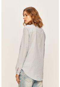 Wielokolorowa koszula Desigual ze stójką, długa, na co dzień, z aplikacjami