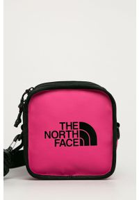 Różowa nerka The North Face z nadrukiem