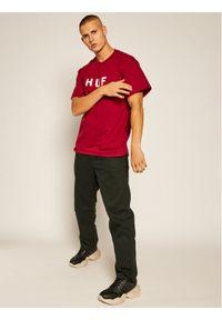 Czerwony t-shirt HUF