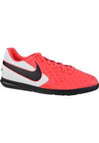 Czerwone halówki Nike z cholewką, w kolorowe wzory