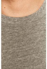 Szara bluza nierozpinana Only & Sons bez kaptura, casualowa, melanż